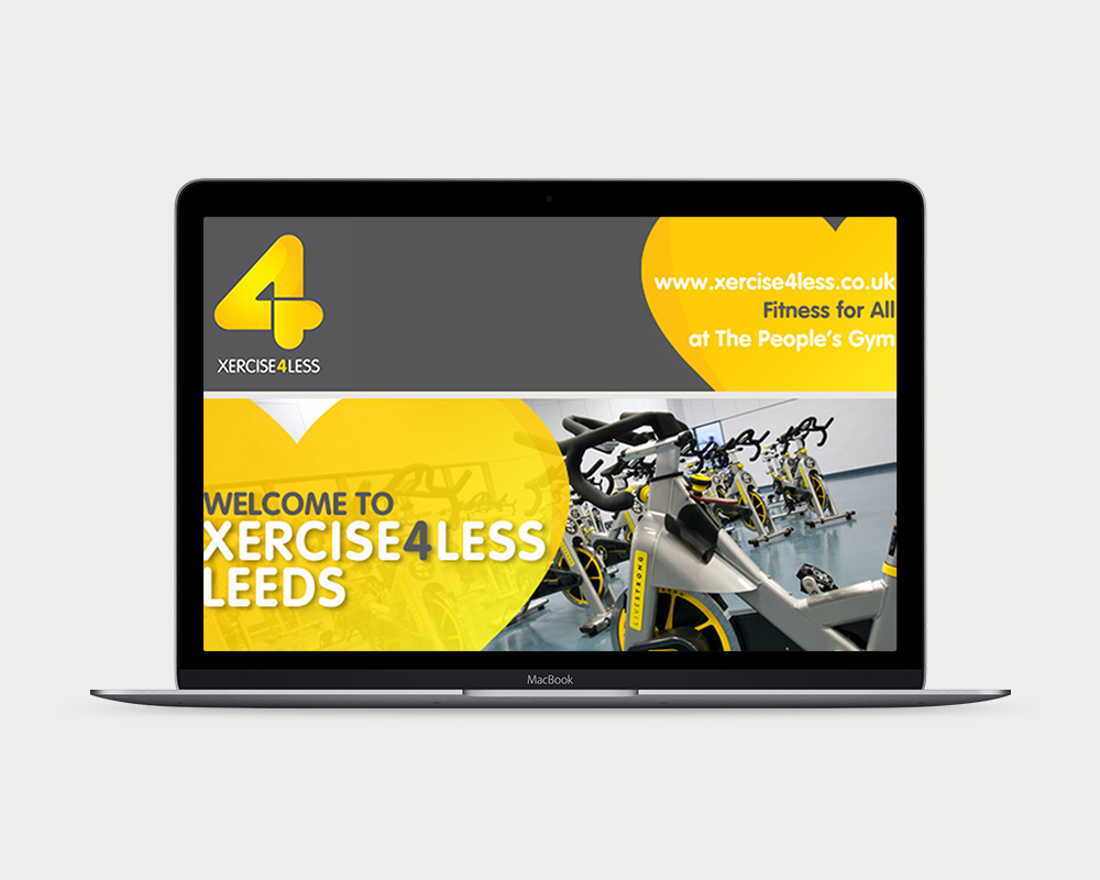 Xercise4Less display