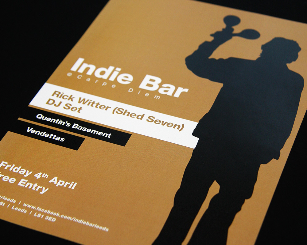 Indie Bar Flyer 2